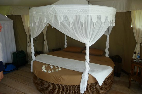 Sandat Glamping Tents: Bed