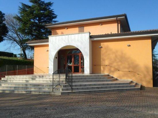 Villa del Poeta: ingresso