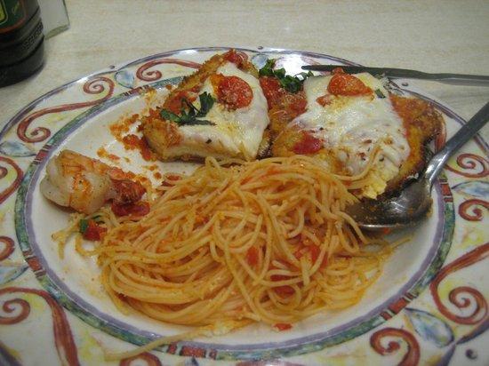 Romano's Macaroni Grill: Chicken Parmagiana