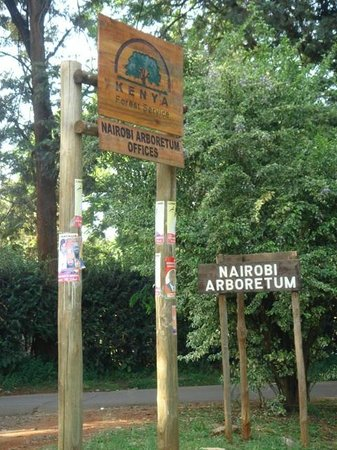 Nairobi Arboretum: Entrée 2