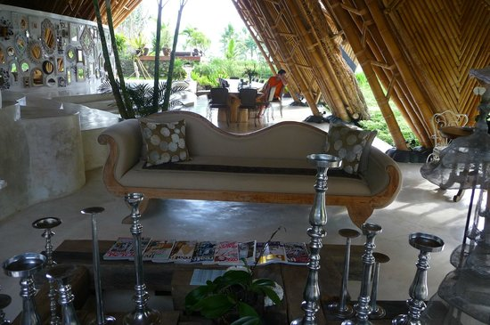 Sandat Glamping Tents: Common Area