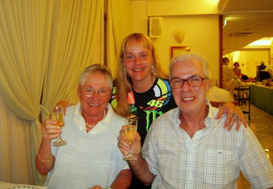 Hotel Principe: Buon Compleanno Alberto, da Mariella e Cristina