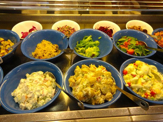 River Cafe: Some of our yummy, homemade salads