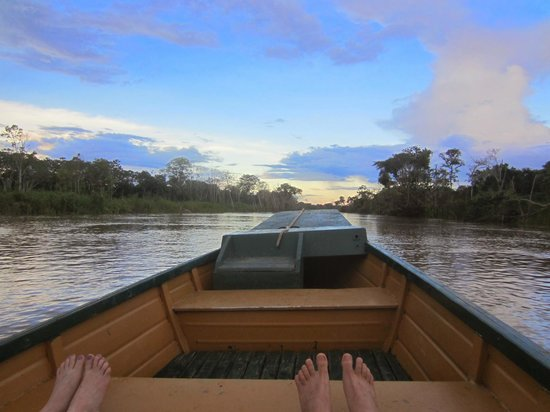 Amazon Yarapa River Lodge: Amazing time on the boat trips