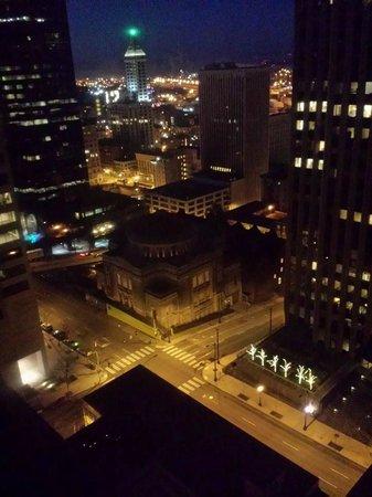 Renaissance Seattle Hotel : Our view