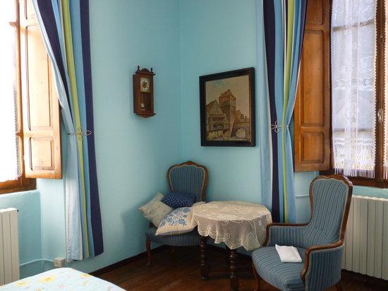 Agriturismo Il Pellegrino: Camera turchese