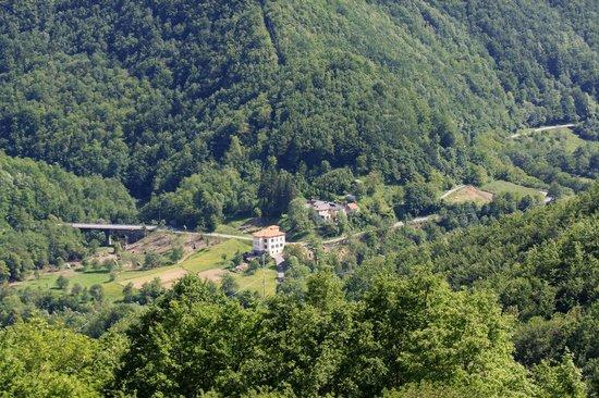 Agriturismo Il Pellegrino: Vista dall'alto