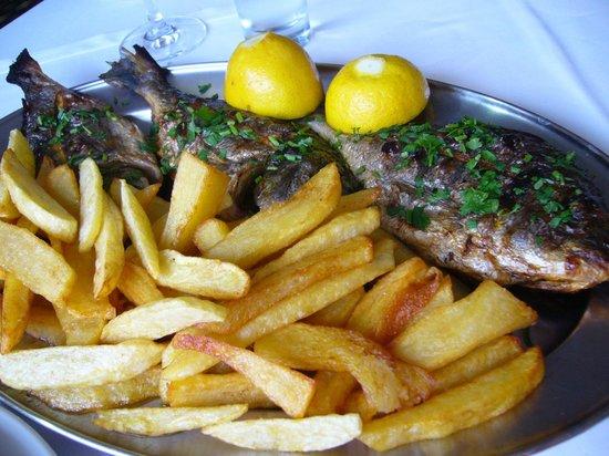 Hotel Dias: leckeres Essen