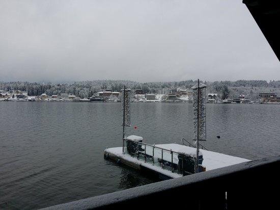 Hotel Barry Memle Lakeside Resort: vom Schlafzimmer aus