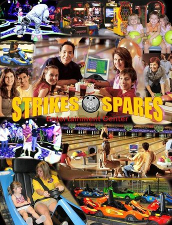 Strikes and Spares Entertainment Center: Fun for everyone!