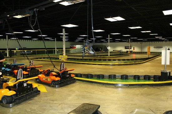 Strikes and Spares Entertainment Center: Adult Go Kart track