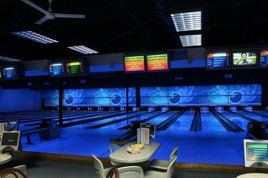 Strikes and Spares Entertainment Center
