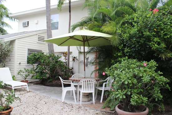 garden for studio picture of el patio motel key west tripadvisor