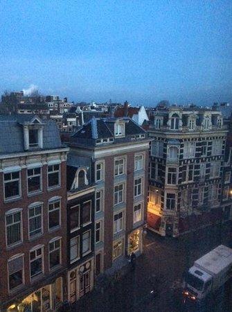 Die Port van Cleve: вид из номера (30.12.2013)