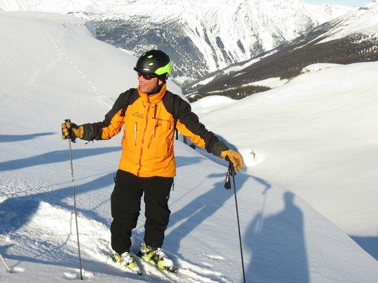 Rk Heliski: Heli-ski guide - the coolest job in the world!