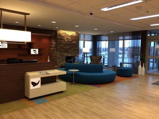 Fairfield Inn & Suites St. Louis West/Wentzville: Lobby