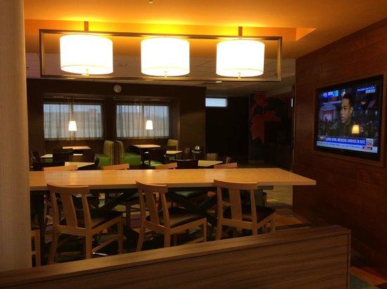 Fairfield Inn & Suites St. Louis West/Wentzville: Breakfast Area