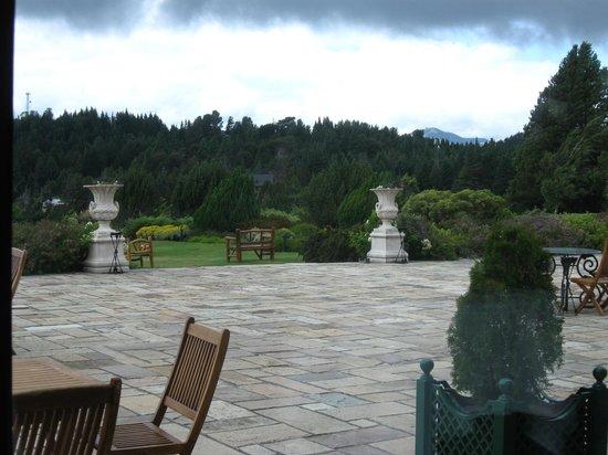 Winter Garden Llao Llao: TERRAZA