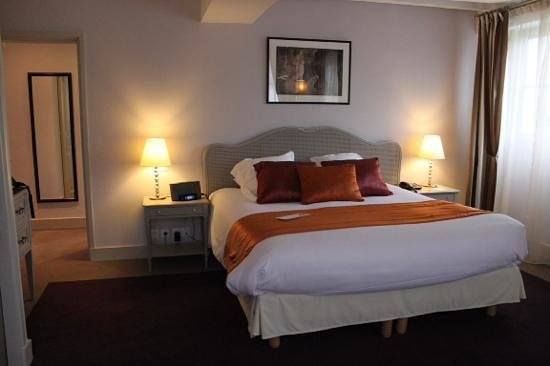 Clarion Hotel Chateau Belmont : chambre