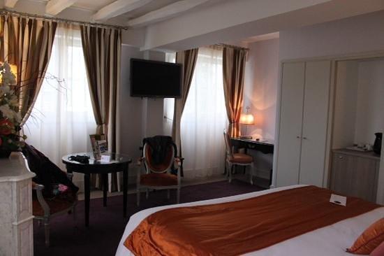 Clarion Hotel Chateau Belmont : Petit salon
