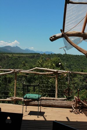 Wild Spirit Lodge and Backpackers: breathtaking view