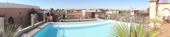 La Villa des Orangers - Hôtel : Dachterrasse