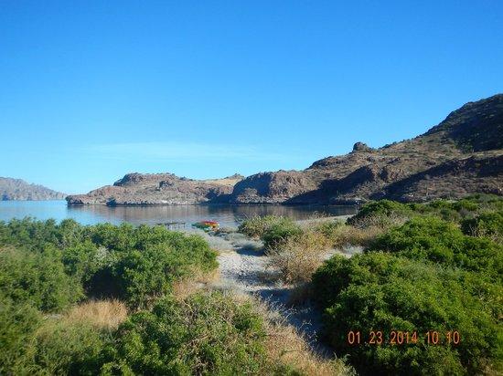 Villa del Palmar Beach Resort & Spa at The Islands of Loreto: Path to the beach!