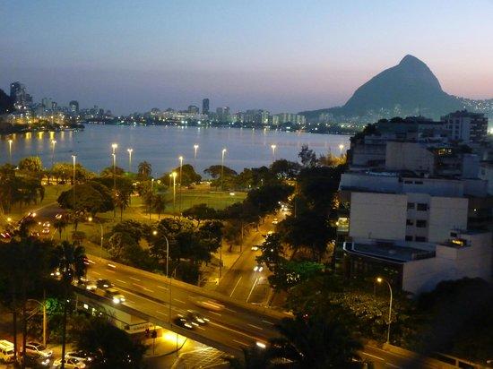 Rodrigo de Freitas Lake : Vista da Lagoa rodrigo de Freitas - Rio de Janeiro