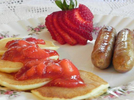 Brockamour Manor Bed and Breakfast: Breakfast varies each day