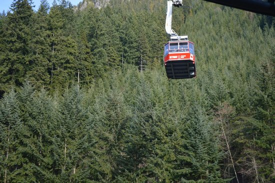 Grouse Mountain: Sky ride