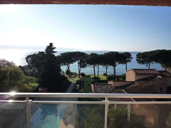 Hotel La Pinede : vue magnifique