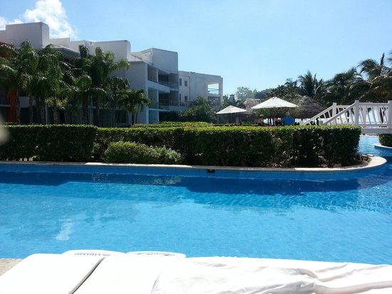 Secrets Aura Cozumel: The junior swim up suite was amazing!