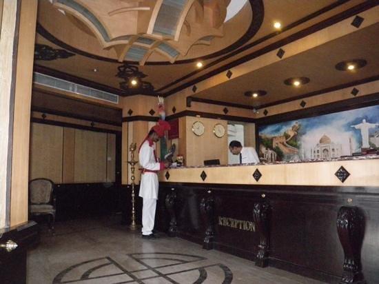 AMS Raj Palace Sundar: la reception