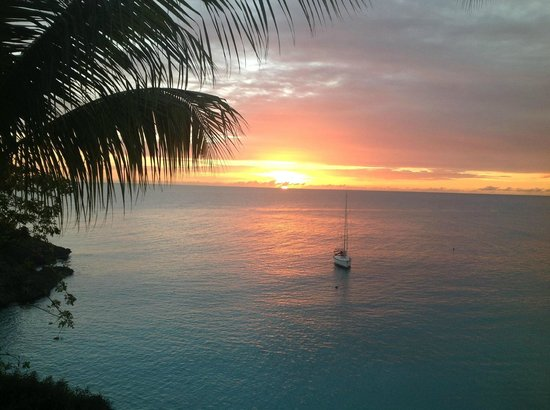 Belmond La Samanna: Another gorgeous sunset