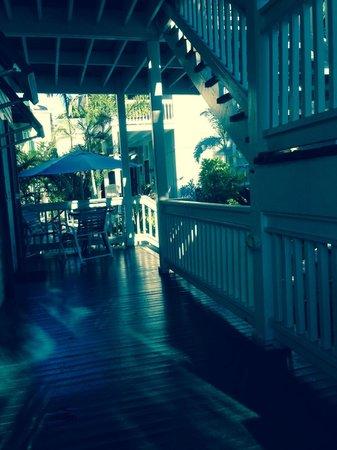 The Cabana Inn Key West : Nice secluded Poch