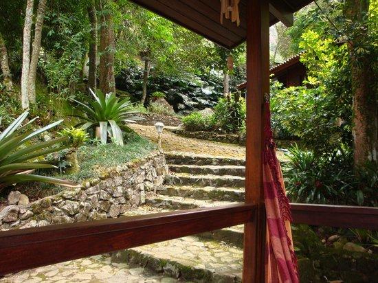 Hotel Pedra Bonita : Vista externa dos chalés 17,18, 19