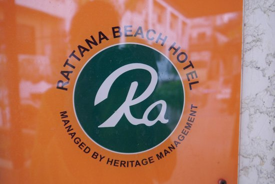 Rattana Beach Hotel : Логотип отеля