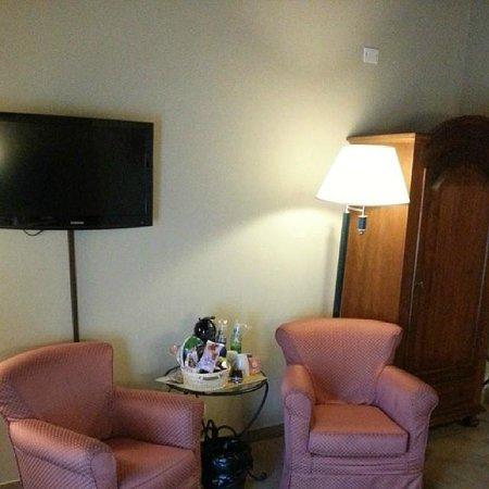 Hotel Residence Diamantina: Saletta con TV Led