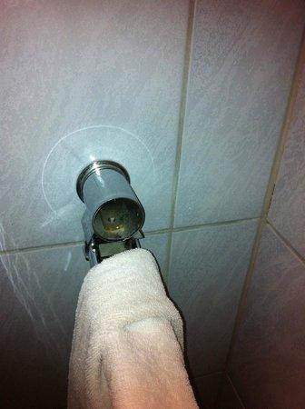 Waldhotel Tannenhäuschen: Feudaler Handtuchhalter