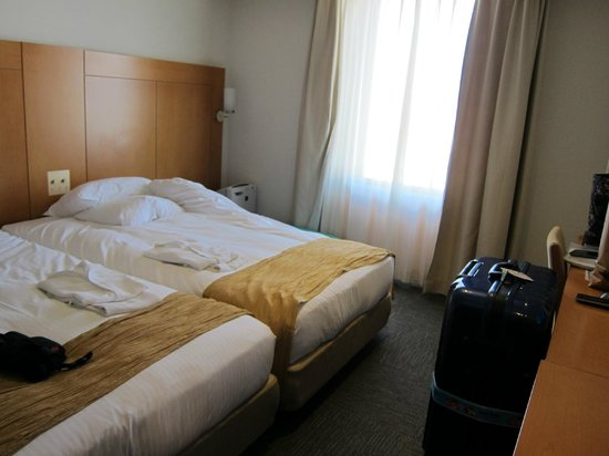 Hotel Rocore Naha: Two single bed
