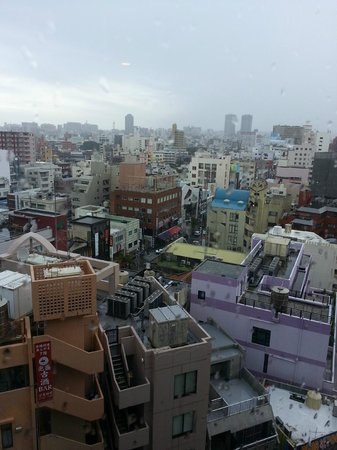 Hotel Rocore Naha : View from my room no. 1107