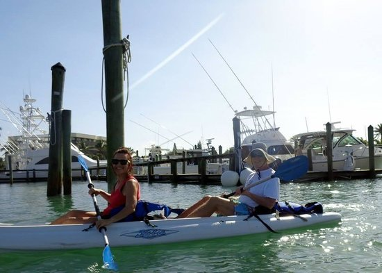 Jupiter Outdoor Center: Catching on quickly to kayaking!