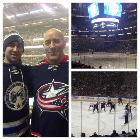KeyBank Center: Blue Jackets vs. Sabres 1/18/14