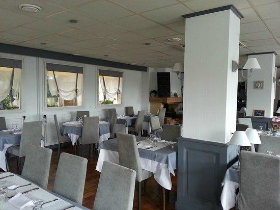 Hotel La Croix de Luge : The restaurant