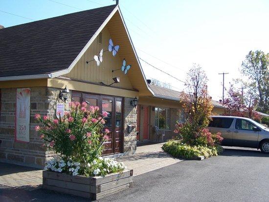 Motel des Berges: Réception
