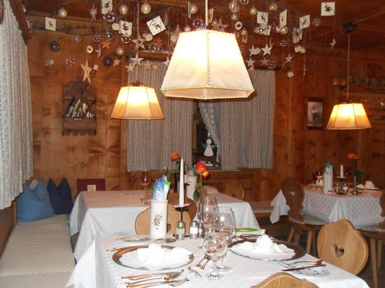 Hotel Uhrerhof-Deur : ristorante