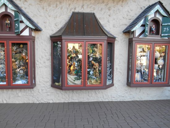 Outside the Incredible Christmas Place shop - Picture of Christmas ...