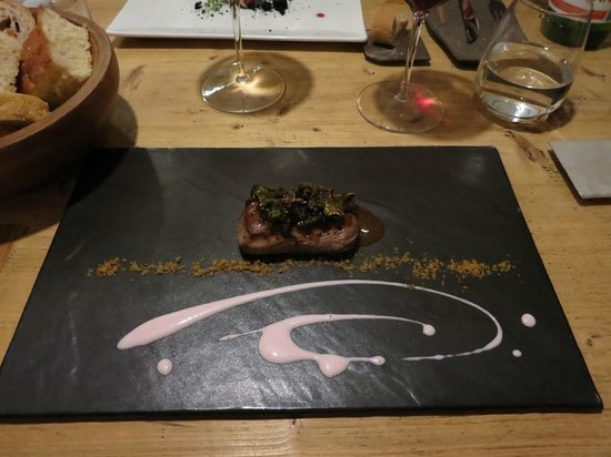 La Tana Gourmet : Sella di Capriolo............fantastica!