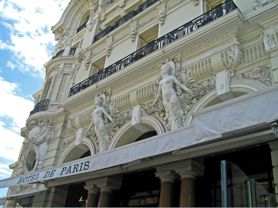Hotel de Paris Monte-Carlo : Hotel de Paris by Cliff_Art