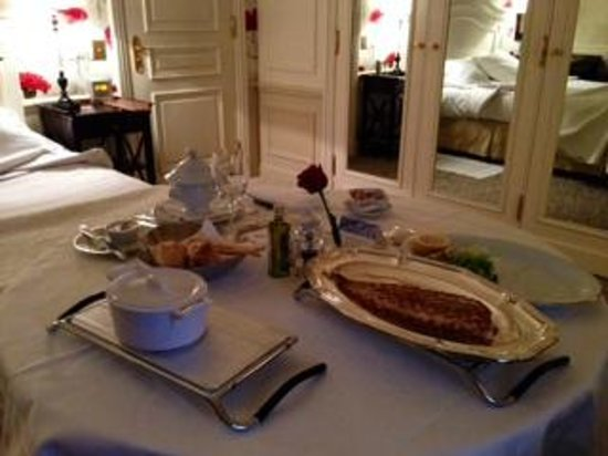 Hotel Hermitage Monte-Carlo: sole fish and vegetable cream soup